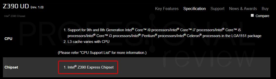 Puedo saber la compatibilidad de componentes de mi PC chipset