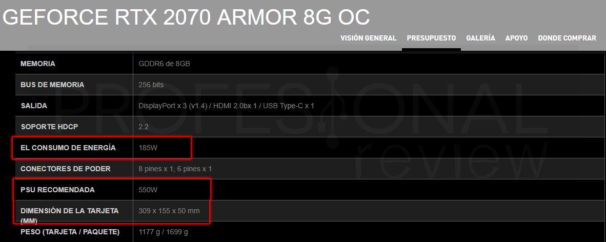 Puedo saber la compatibilidad de componentes de mi PC tarjeta gráfica