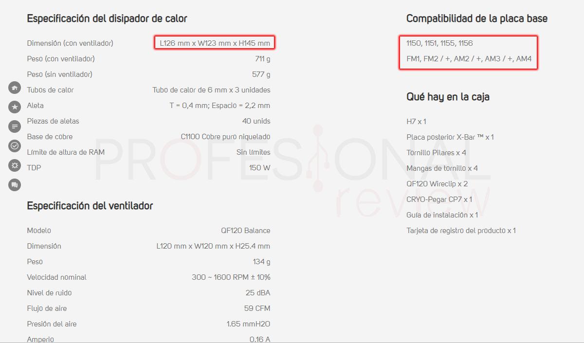 Puedo saber la compatibilidad de componentes de mi PC disipador