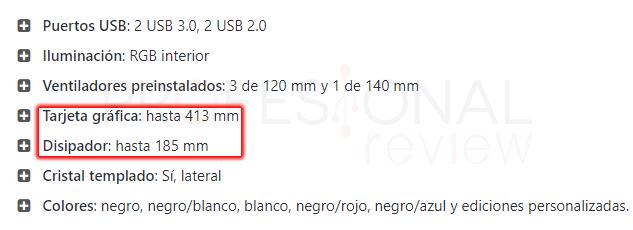 Puedo saber la compatibilidad de componentes de mi PC chasis