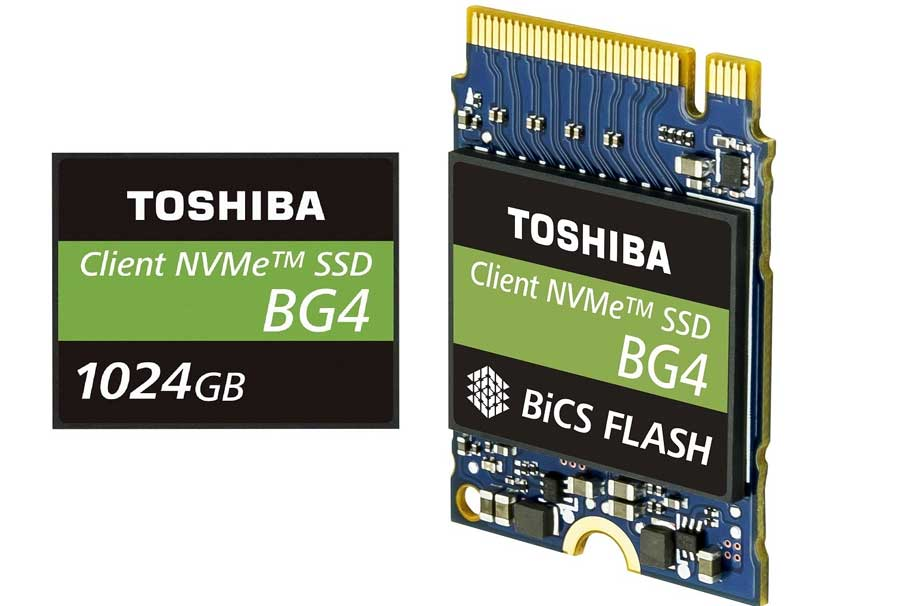 Toshiba BG4 NVMe