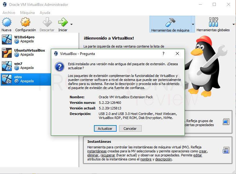 VirtualBox no reconoce USB paso 02