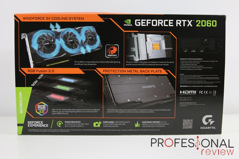 Gigabyte RTX 2060 GAMING OC PRO