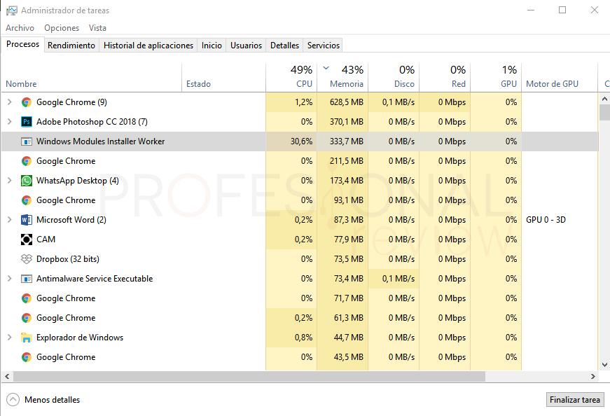 Mi ordenador va muy lento paso 16