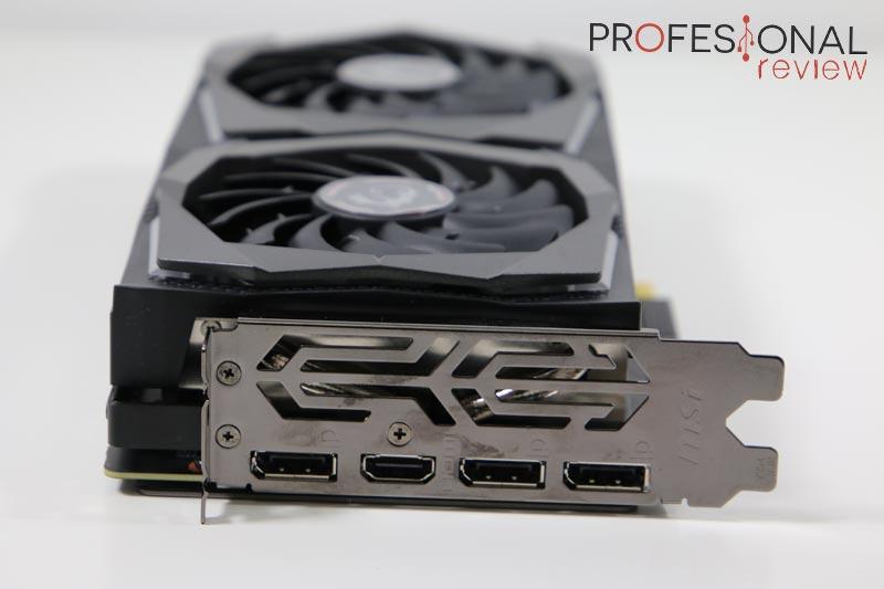 MSI GeForce RTX 2060 GAMING Z 6G Puertos