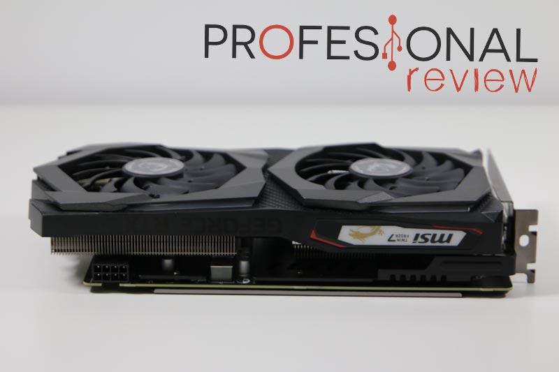 MSI GeForce RTX 2060 GAMING Z 6G Perfil