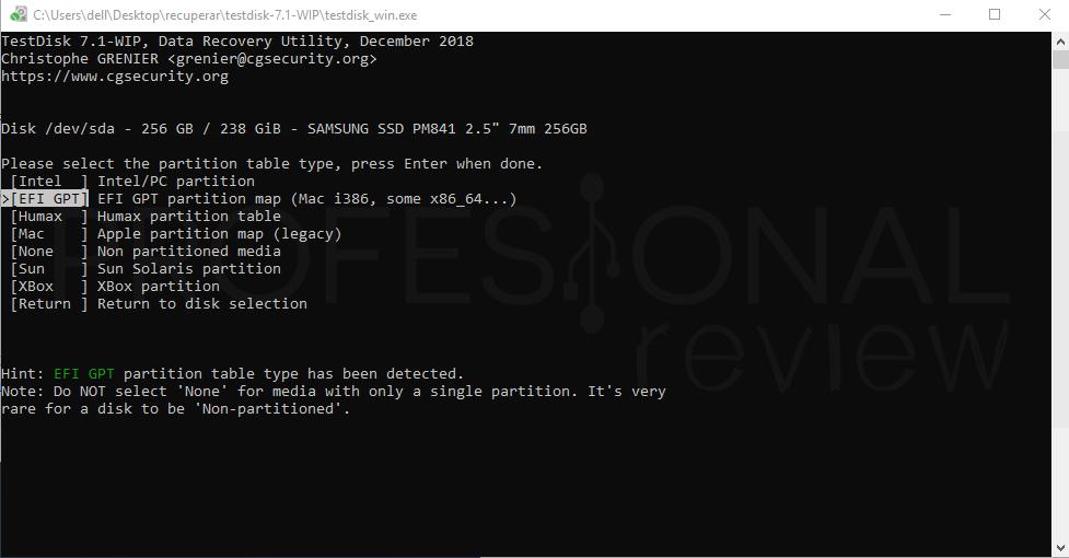 Recuperar datos de un disco duro paso 03
