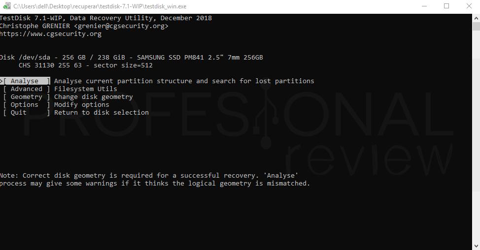 Recuperar datos de un disco duro paso 04