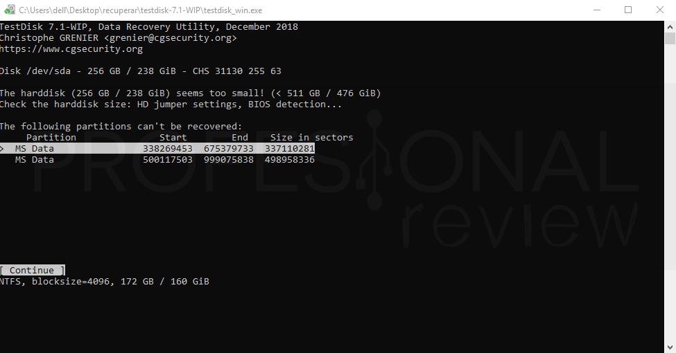 Recuperar datos de un disco duro paso 05