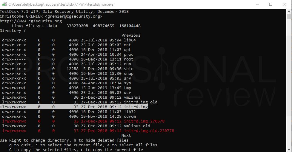 Recuperar datos de un disco duro paso 07