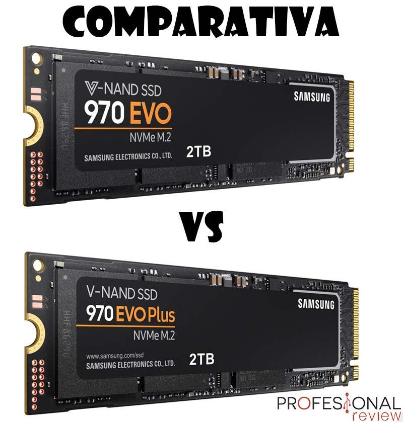 Samsung 970 EVO vs Samsung 970 EVO Plus