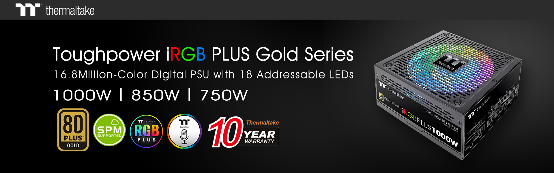 Toughpower iRGB Plus Gold