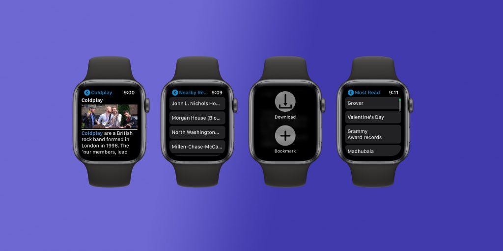 MiniWiki lleva la Wikipedia hasta tu Apple Watch