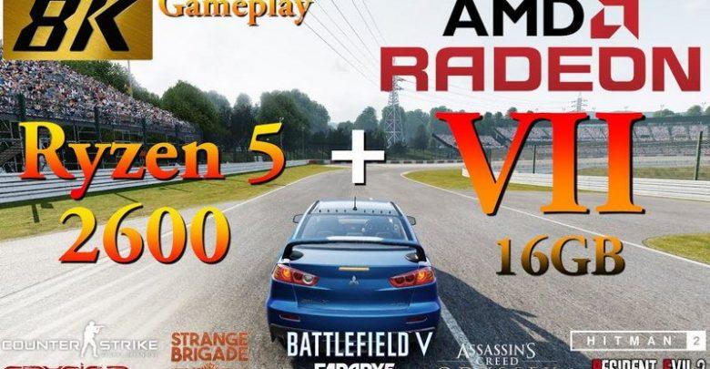 Photo of AMD Radeon VII es testeado con varios juegos a resolución 8K