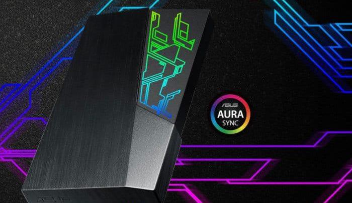 Photo of ASUS FX HDD, El primer disco duro externo con iluminación RGB