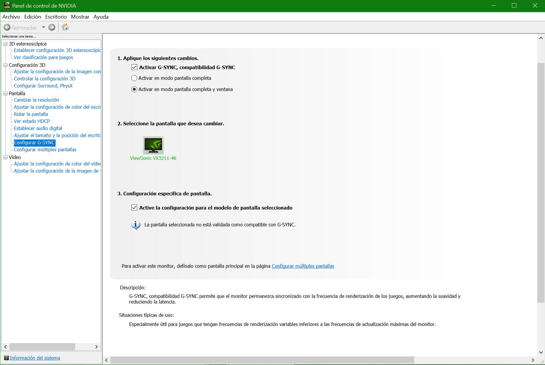 Activar G-Sync en monitor FreeSync paso 03