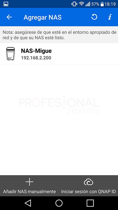Mejores aplicaciones QNAP para Android Qmanager