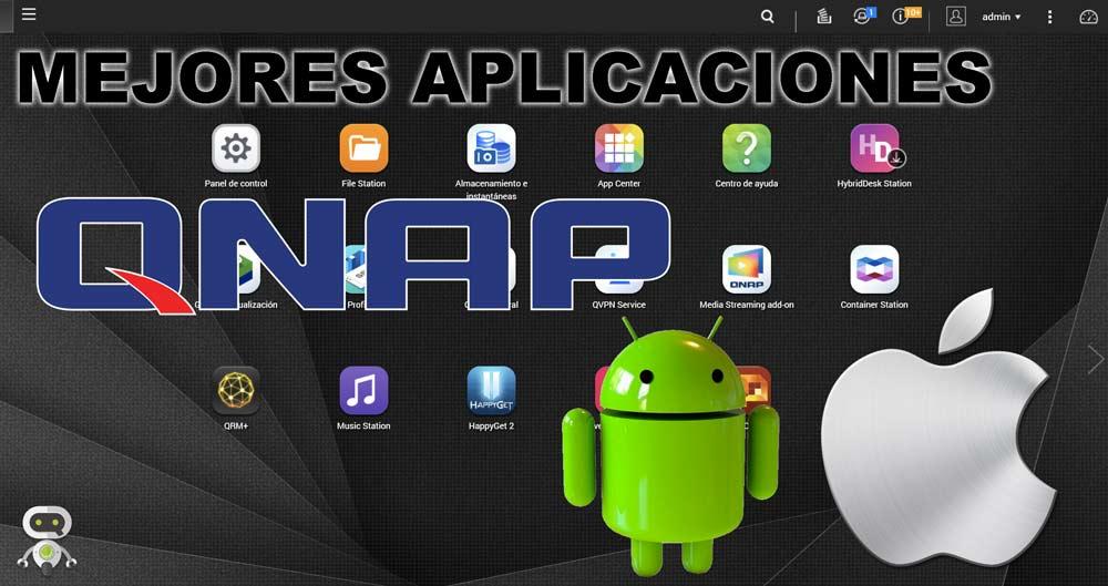 Mejores aplicaciones QNAP para Android