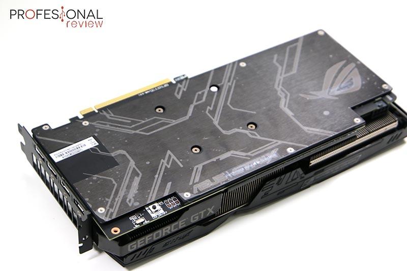 Asus ROG Strix GeForce GTX 1660 Ti blackplate