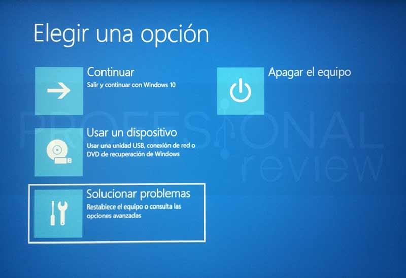 Cómo acceder a la BIOS con Windows 10 paso 04