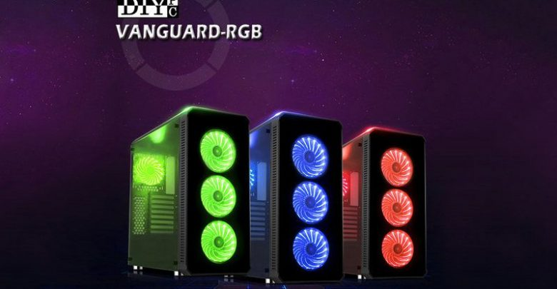 Photo of DIYPC anuncia su chasis 'Premium' Vanguard-RGB por 129.99 USD
