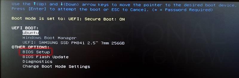 Entrar en la BIOS paso 06