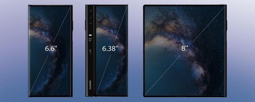 Huawei Mate X pantallas