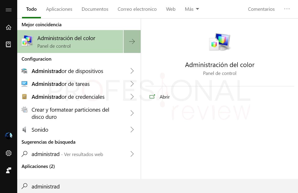 Instalar perfil ICM paso 01