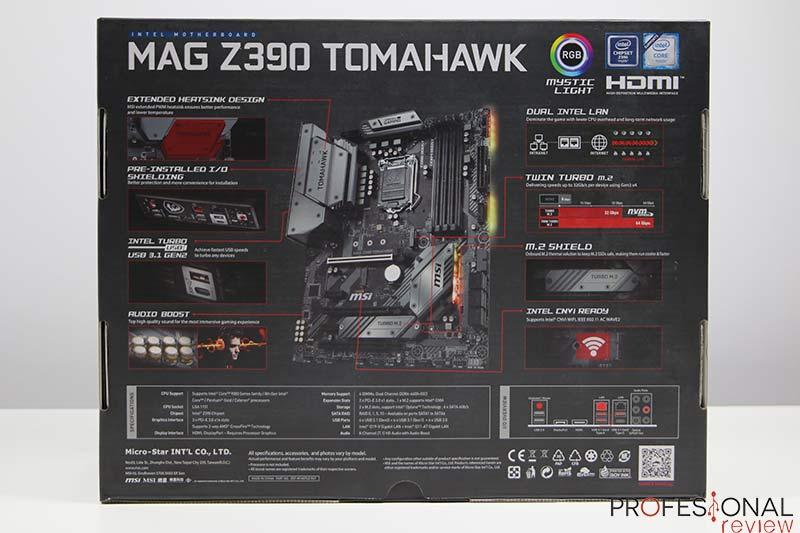 MSI MAG Z390 Tomahawk Review