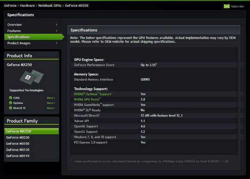 NVIDIA anuncia nuevas GPUs para portátiles: MX 250 y MX 230