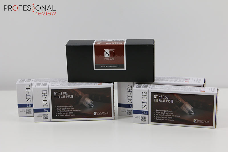 Noctua NT-H2, NT H1 y NA-SCW1 review