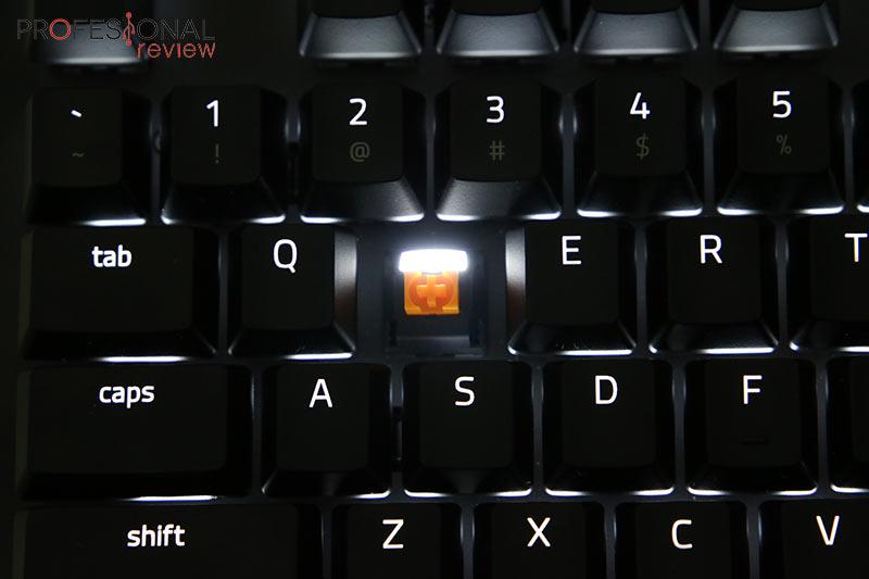 Razer BlackWidow Lite switch