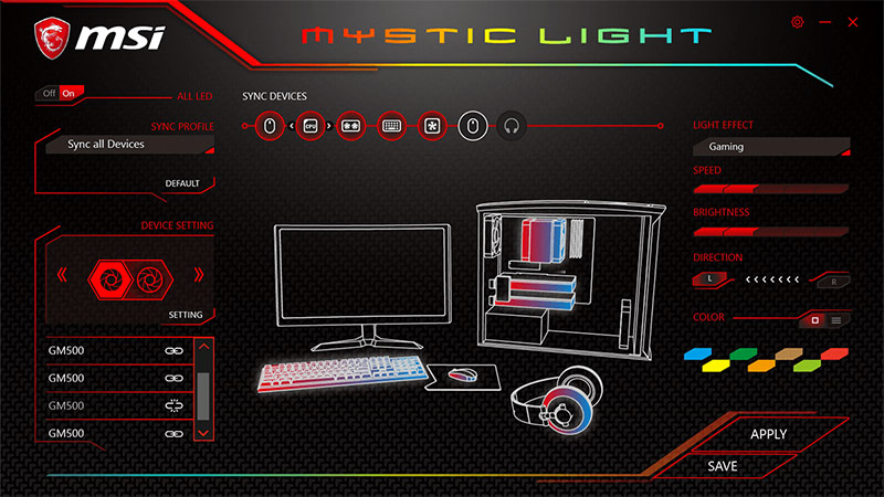 Sistemas de iluminación LED RGB para PC
