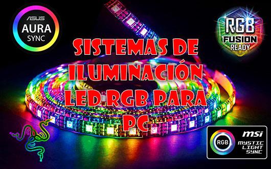 Todos los sistemas de iluminación LED RGB para PC y sus claves