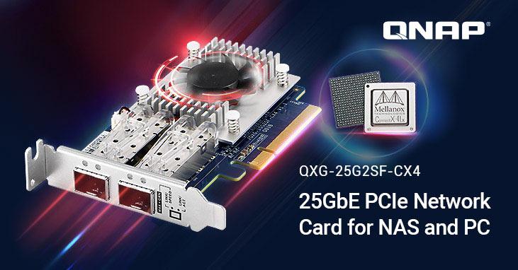 Photo of QNAP ha presentado sus nuevas NIC de 25 GbE con chip SmartNIC ConnectX-4Lx
