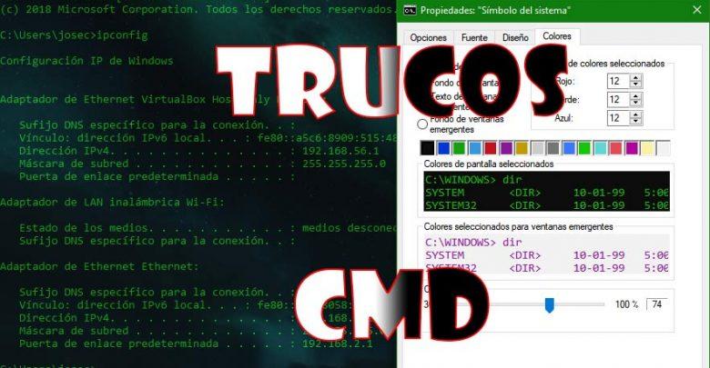 Photo of Trucos CMD: limpiar pantalla, personalizar CMD, y comandos de inicio