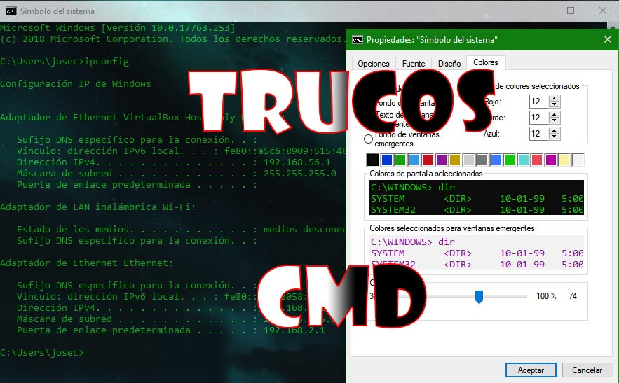 Trucos CMD