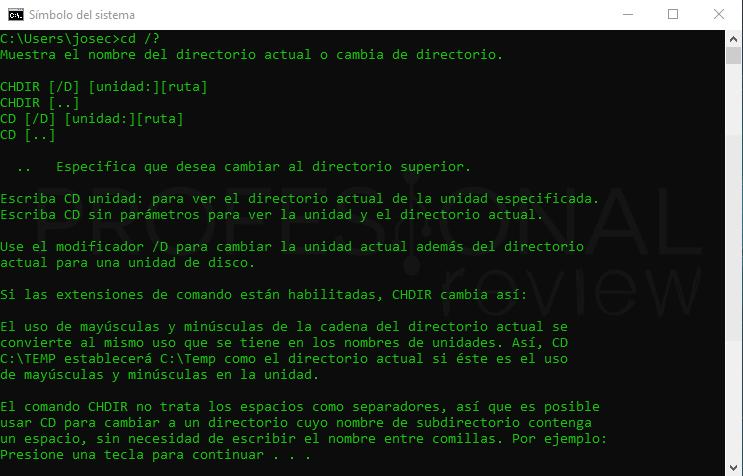 Trucos CMD paso 04