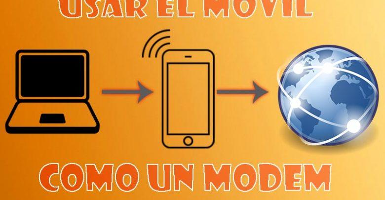 Photo of Cómo usar móvil como modem Wi-Fi para conectarnos a Internet