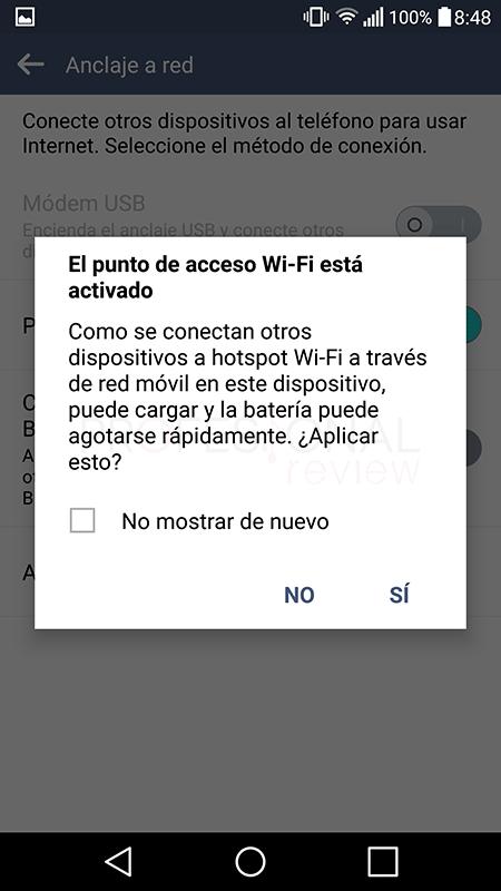 Usar móvil como modem Wi-Fi paso 04