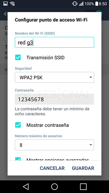 Usar móvil como modem Wi-Fi paso 07