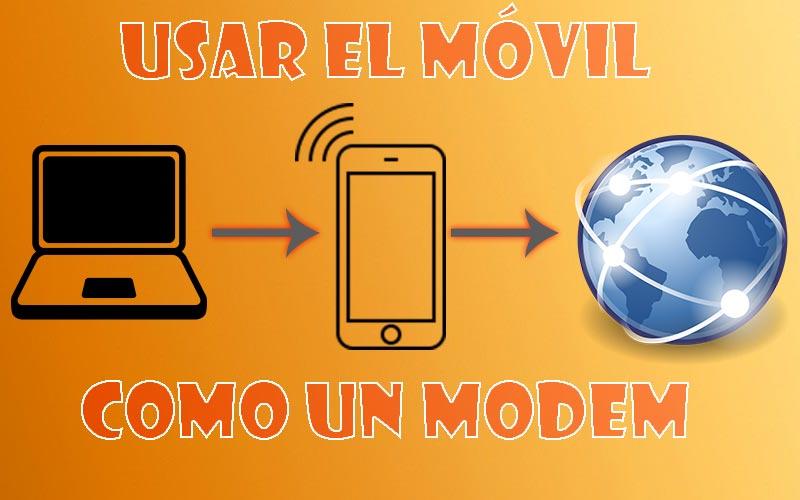 Usar móvil como modem Wi-Fi