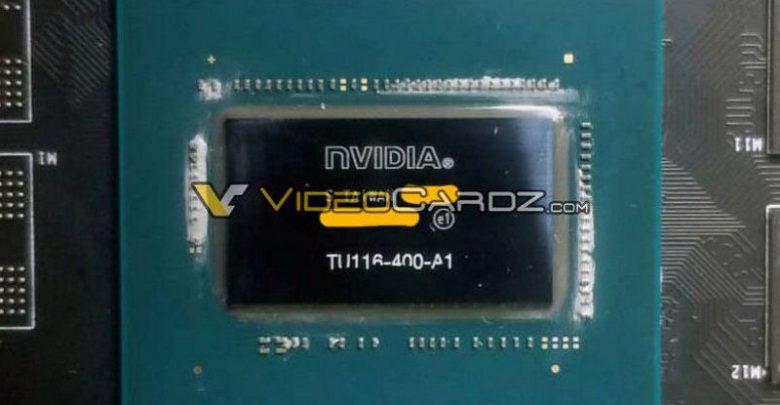 Photo of Vistazo de cerca al GPU de la GTX 1660 Ti, más pequeño que el TU106