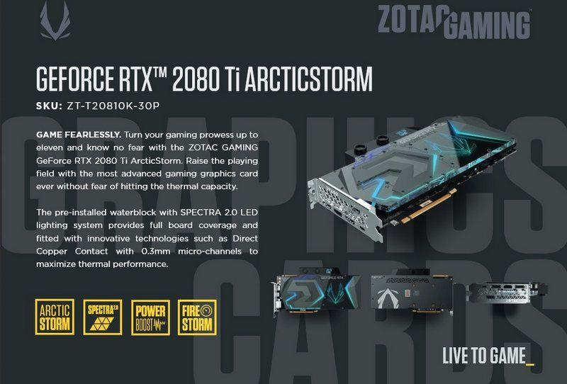 RTX 2080 Ti ArcticStorm