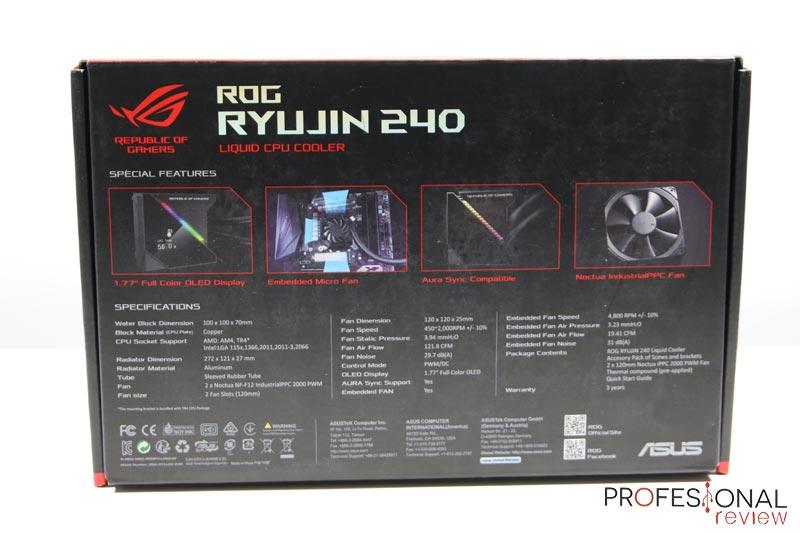Asus ROG Ryujin 240