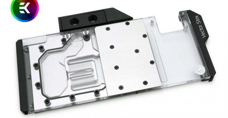 Photo of EK lanza los bloques de la serie Vector RTX para GPUs ASUS ROG Strix