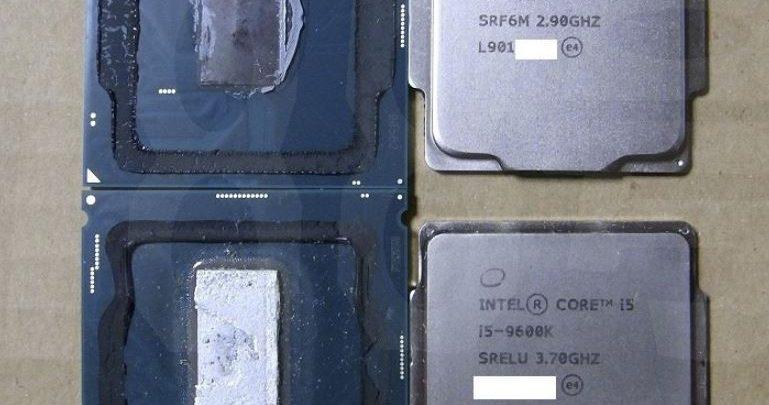 Photo of El procesador Intel Core i5-9400F usa pasta térmica en lugar de STIM