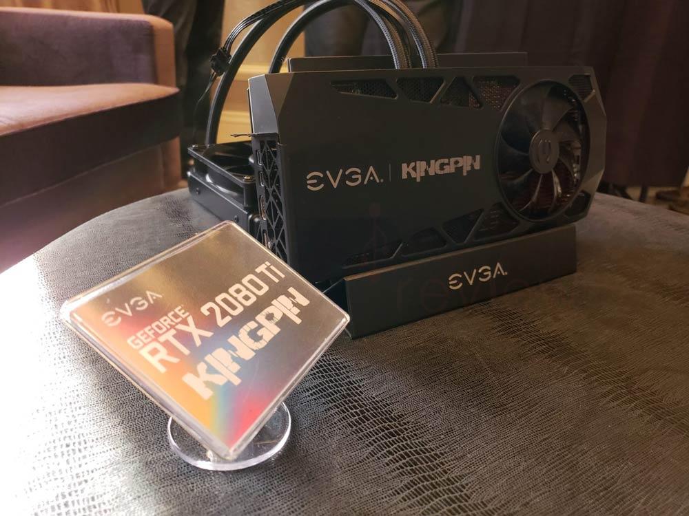 Overclocking EVGA GeForce RTX 2080 Ti Kingpin Hybrid