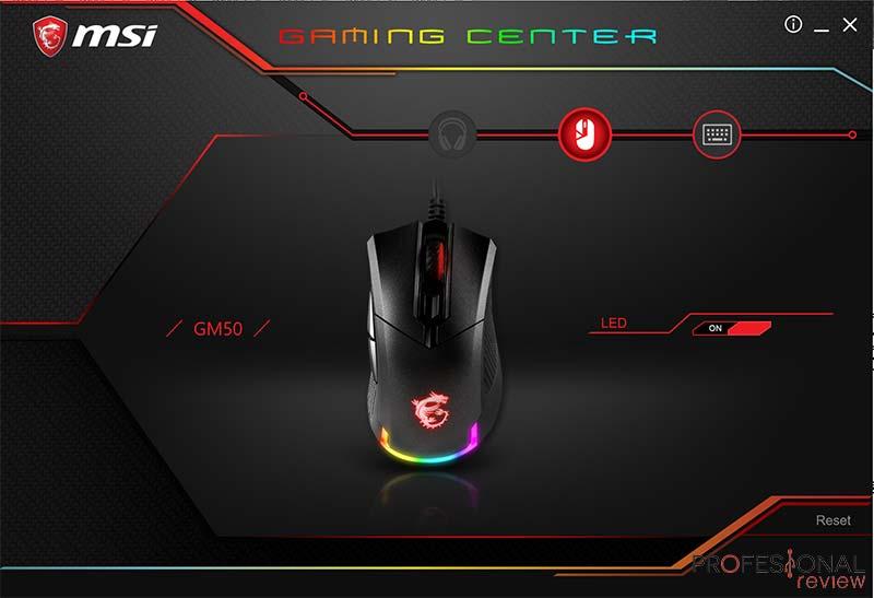 MSI Clutch GM50 Gaming Center