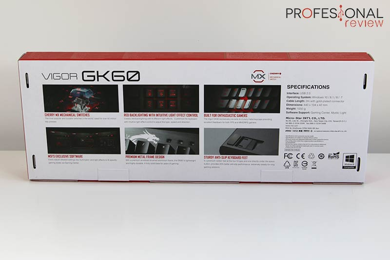 MSI Vigor GK60 Review
